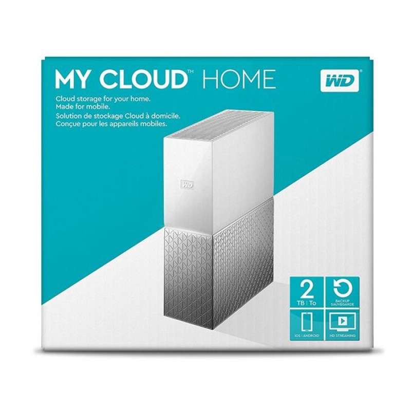 Disco NAS WD 2 TB My Cloud Gigabit USB 3.0