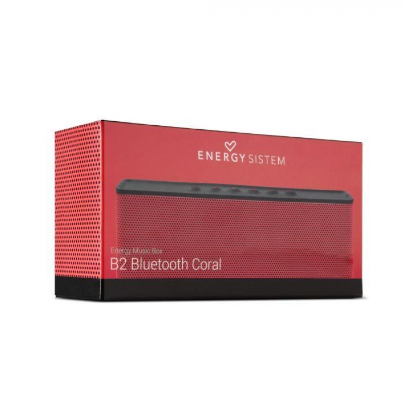Parlante Energy System Coral b2 Bluetooth Rojo