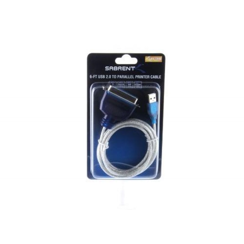 Cable USB 2.0 a Centronics 1.8M Sabrent