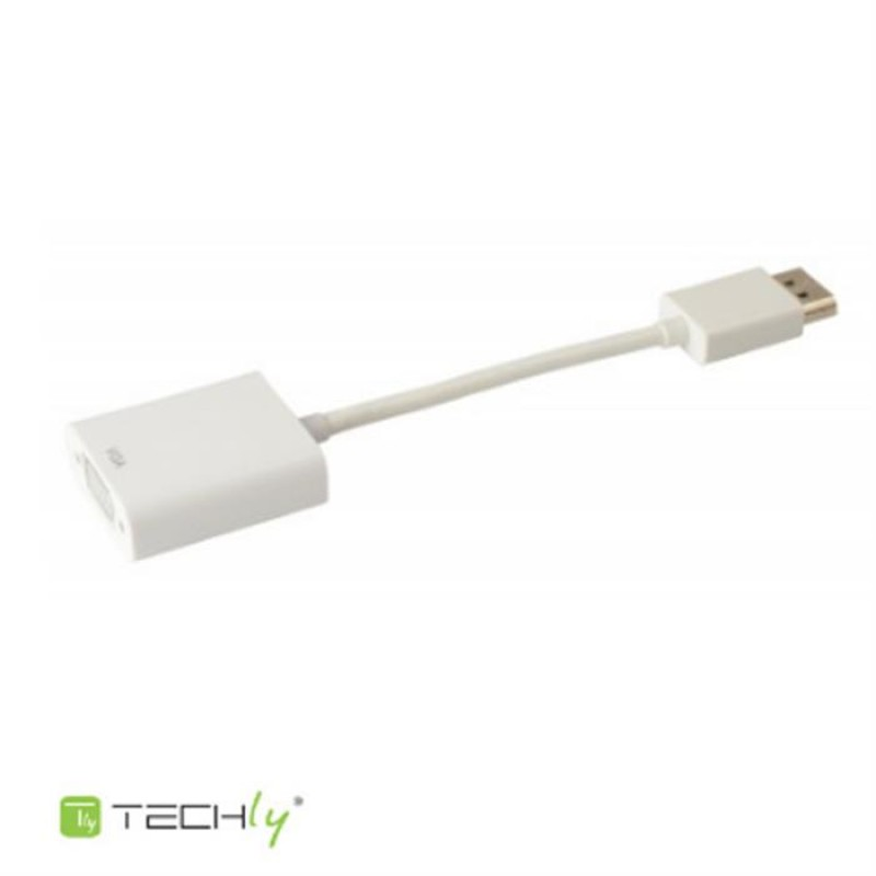 Adaptador Display Port a VGA HP Dell Techly