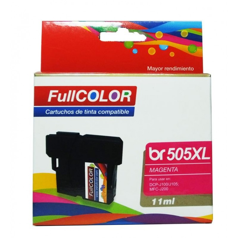 Cartucho compatible Brother 505XL Magenta