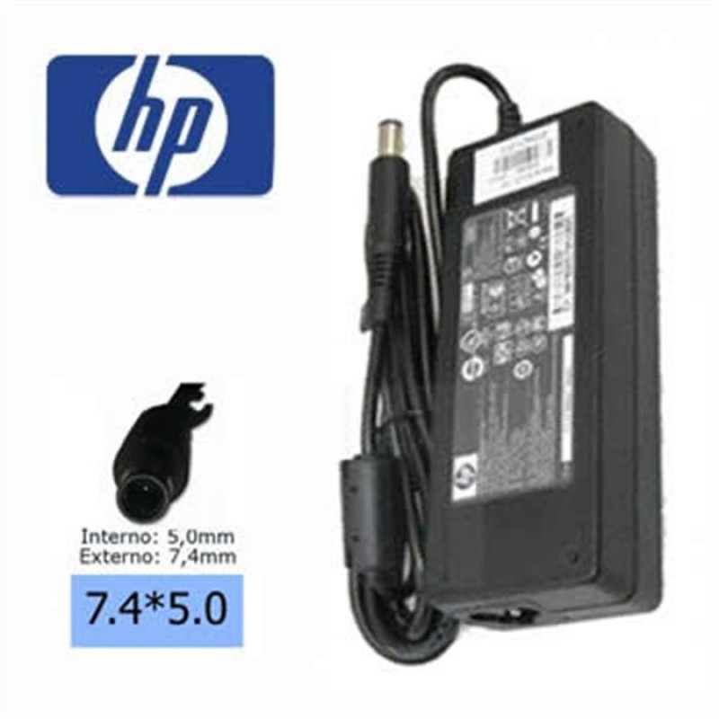 Cargador NB HP 120W 19V 6.50A pin 7.4*5.0 Origin