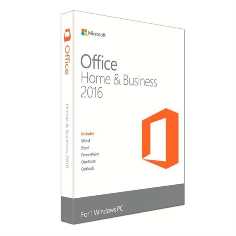 Microsoft Office 2016 FPP Home & Business